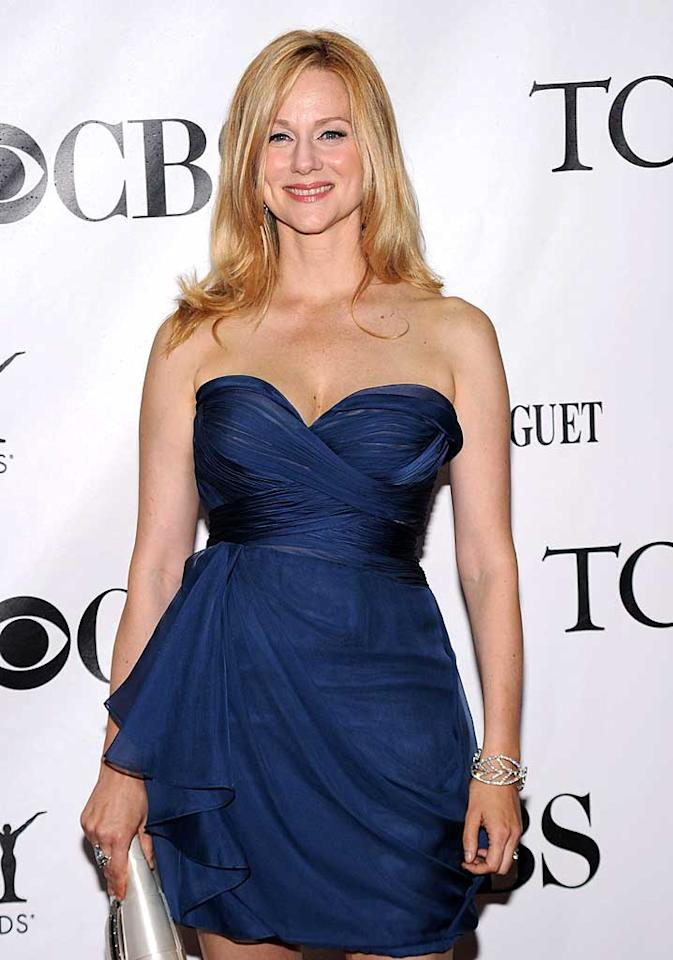 """February 5: Laura Linney turns 47 Bryan Bedder/<a href=""""http://www.gettyimages.com/"""" target=""""new"""">GettyImages.com</a> - June 3, 2010"""