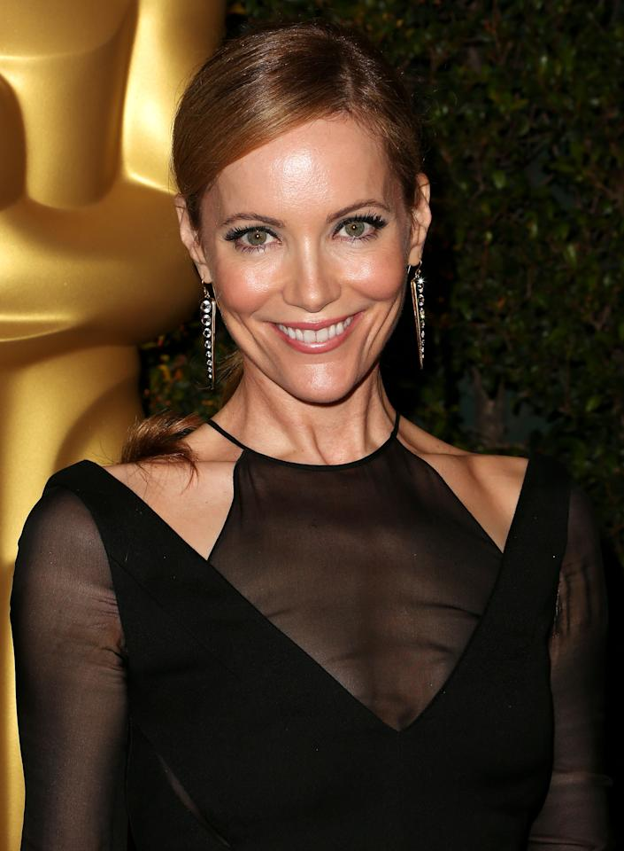 HOLLYWOOD, CA - DECEMBER 01:  Actress Leslie Mann attends the Academy Of Motion Picture Arts And Sciences' 4th Annual Governors Awards at Hollywood and Highland on December 1, 2012 in Hollywood, California.  (Photo by Frederick M. Brown/Getty Images)