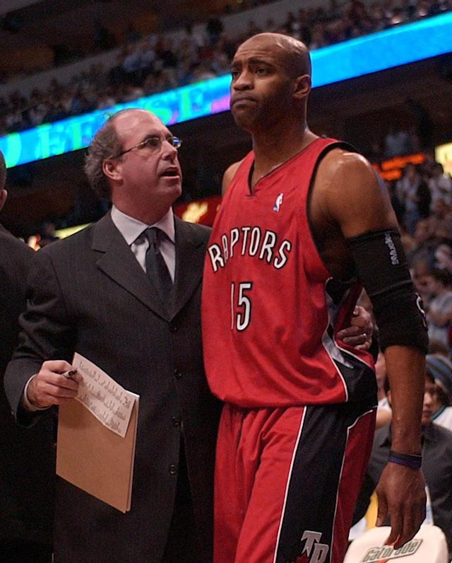 <p>So often the most painful and bitter exits begin with such spectacular heights. Carter was highly embraced by Toronto fans upon his arrival in 1998. He was the face of the franchise and he brought the team its first semblance of success with three straight playoff appearances in the early 2000s. Carter's relationship with the front office began to sour as he questioned the team's commitment to winning. Following a stretch riddled by injuries during which the Raptors struggled, Carter was dealt away to the Nets during the 2004 season, and was booed mercilessly every time he made return trips to Toronto. </p>