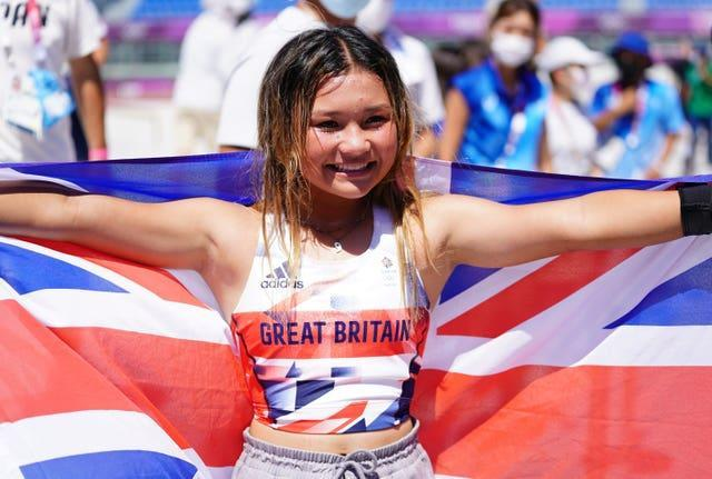 Sky Brown became Team GB's youngest ever Olympic medallist