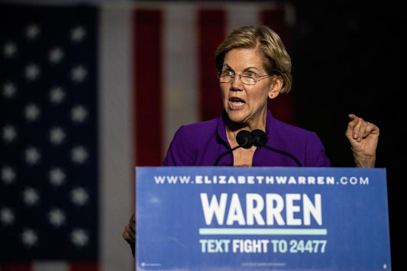 Elizabeth Warren Talks About Her Plans, Less About the Costs