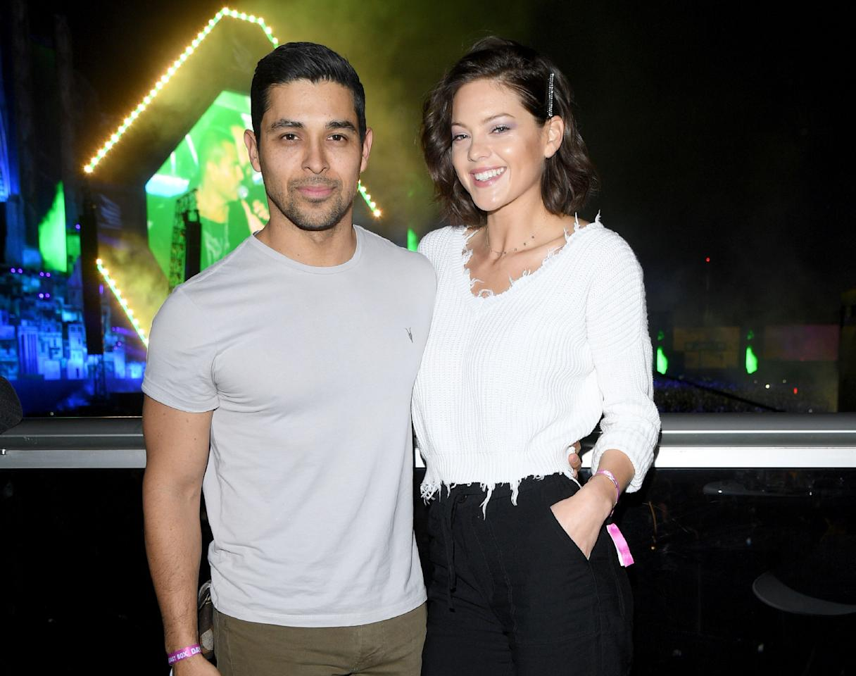 """On January 1, 2020, Wilmer Valderrama and model Amanda Pacheco announced their engagement with matching Instagram posts. Both shared a gorgeous beachside image that showed the moment the actor got down on one knee in San Diego to ask Pacheco to marry him. """"'It's just us now' 01-01-2020,"""" the <em>NCIS</em> star <a href=""""https://www.instagram.com/p/B6zjt0mgbHD/"""">captioned the picture</a>. Pacheco also <a href=""""https://www.instagram.com/p/B6zuXj2JAUy/"""">shared a picture</a> of her new gorgeous, pear-shaped diamond to social media. (<em>People</em> <a href=""""https://people.com/style/all-about-the-pear-shaped-engagement-ring-wilmer-valderrama-proposed-to-amanda-pacheco-with/"""">reports</a> the solitaire jewel is a whopping 4 carats.) The couple are rumored to have started dating in April 2019."""