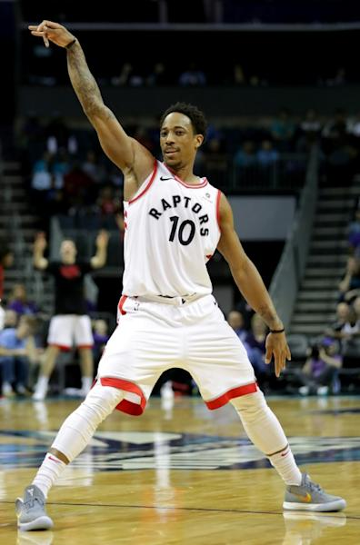 The Toronto Raptors lead the Boston Celtics in the Eastern Conference by two games and DeMar DeRozan said one reason for their success is the play of their younger guys coming off the bench