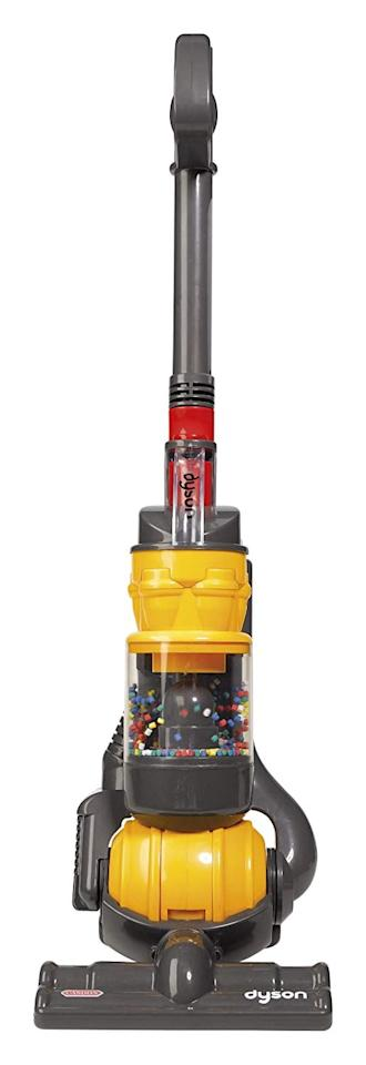 """<p>The <a href=""""https://www.popsugar.com/buy/Dyson-Ball-Vacuum-391095?p_name=Dyson%20Ball%20Vacuum&retailer=amazon.com&pid=391095&price=30&evar1=moms%3Aus&evar9=45521852&evar98=https%3A%2F%2Fwww.popsugar.com%2Ffamily%2Fphoto-gallery%2F45521852%2Fimage%2F45521853%2FDyson-Ball-Vacuum-30-originally-40-twists-moves-just&list1=gifts%2Cparenting%2Cgifts%20for%20kids%2Ckids%20toys&prop13=api&pdata=1"""" rel=""""nofollow"""" data-shoppable-link=""""1"""" target=""""_blank"""" class=""""ga-track"""" data-ga-category=""""Related"""" data-ga-label=""""https://www.amazon.com/gp/product/B004V3PS72"""" data-ga-action=""""In-Line Links"""">Dyson Ball Vacuum</a> ($30, originally $40) twists and moves just like the real thing.</p>"""