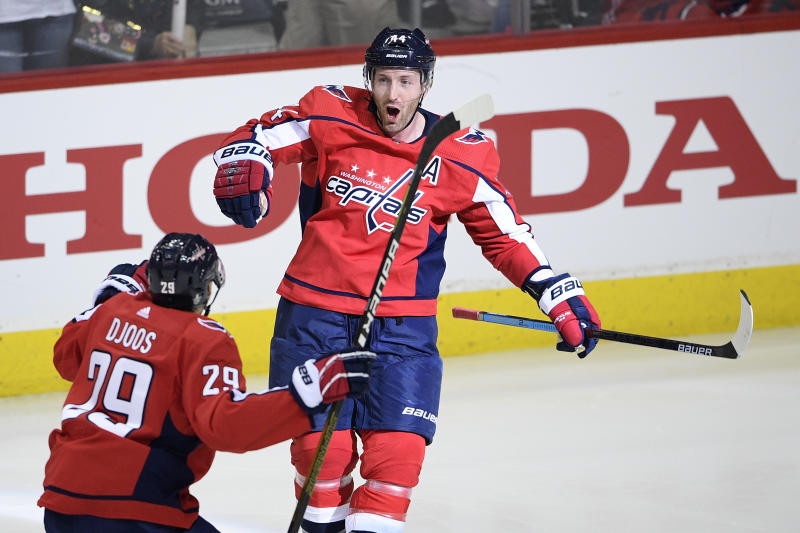 Caps defenseman Christian Djoos, forward Chandler Stephenson filed for salary arbitration. What comes next?