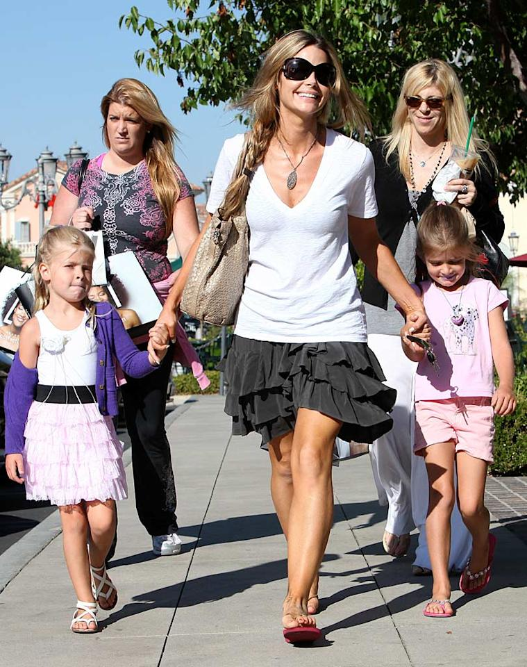 """Denise Richards' darling daughters, Sam and Lola, are their single mom's BFFs. Wherever you see the """"Drop Dead Gorgeous"""" star shopping, they're right beside her! RS/<a href=""""http://www.x17online.com"""" target=""""new"""">X17 Online</a> - August 11, 2010"""