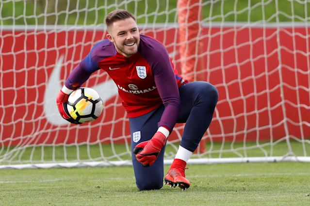 Jack in our box: Will Butland get the nod ahead of Joe Hart at Wembley on Friday night?