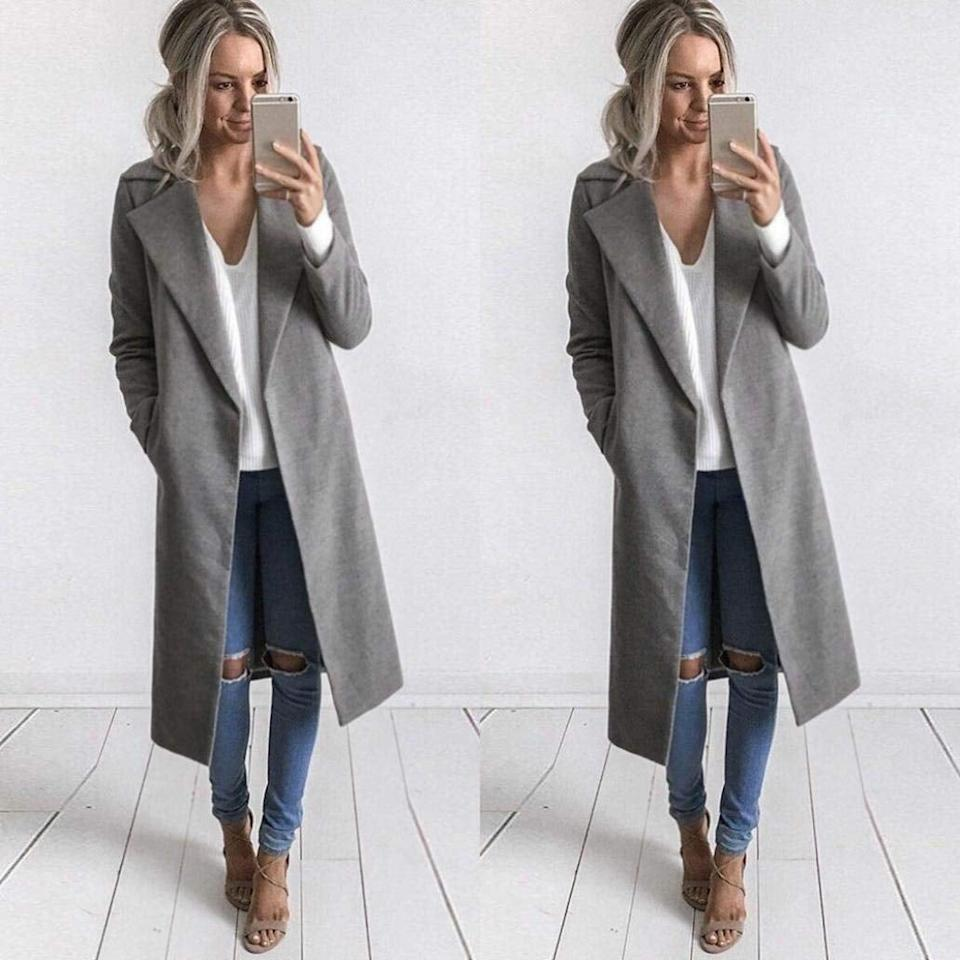 "<p>You can wear this <a href=""https://www.popsugar.com/buy/Grefer-Overcoat-Outwear-354711?p_name=Grefer%20Overcoat%20Outwear&retailer=amazon.com&pid=354711&price=24&evar1=fab%3Aus&evar9=45125857&evar98=https%3A%2F%2Fwww.popsugar.com%2Ffashion%2Fphoto-gallery%2F45125857%2Fimage%2F45126167%2FGrefer-Overcoat-Outwear&list1=shopping%2Cfall%20fashion%2Camazon%2Ccoats%2Cfall%2Cjackets%2Cwinter%2Camazon%20prime%2Cwinter%20fashion&prop13=api&pdata=1"" rel=""nofollow"" data-shoppable-link=""1"" target=""_blank"" class=""ga-track"" data-ga-category=""Related"" data-ga-label=""https://www.amazon.com/GREFER-Clearance-Cardigan-Overcoat-Outwear/dp/B075FH1QGH/ref=sr_1_49_sspa?s=apparel&amp;ie=UTF8&amp;qid=1533163430&amp;sr=1-49-spons&amp;nodeID=7147440011&amp;psd=1&amp;keywords=coats%2Bfor%2Bwomen&amp;refinements=p_36%3A-5000&amp;th=1&amp;psc=1"" data-ga-action=""In-Line Links"">Grefer Overcoat Outwear</a> ($24) every day. </p>"