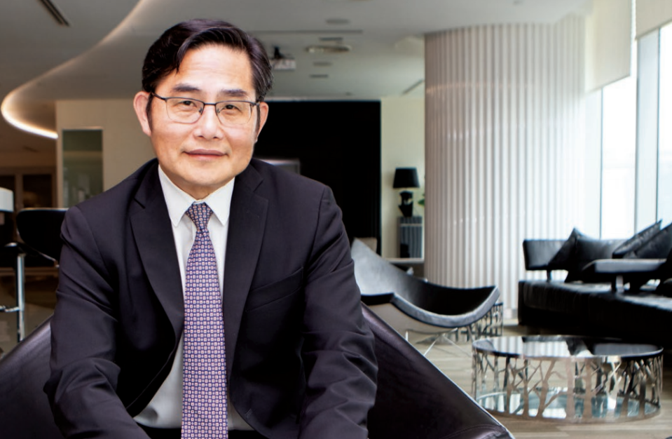 Lim Chung Chun, Chairman and CEO of iFast Corp. (PHOTO: iFast annual report)
