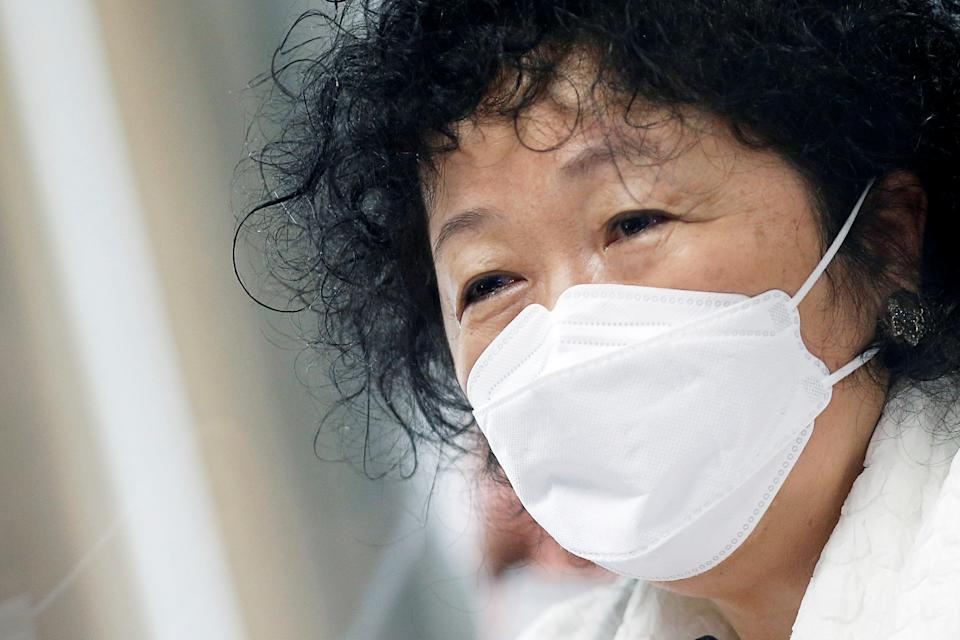 Doctor Nise Yamaguchi looks on during a meeting of the Parliamentary Inquiry Committee (CPI) to investigate government actions and management during the coronavirus disease (COVID-19) pandemic, at the Federal Senate in Brasilia, Brazil June 1, 2021. REUTERS/Adriano Machado