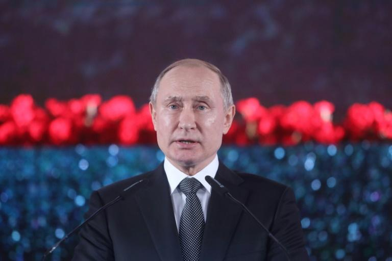 Putin has held power in Russia for two decades (AFP Photo/Marc Israel SELLEM)