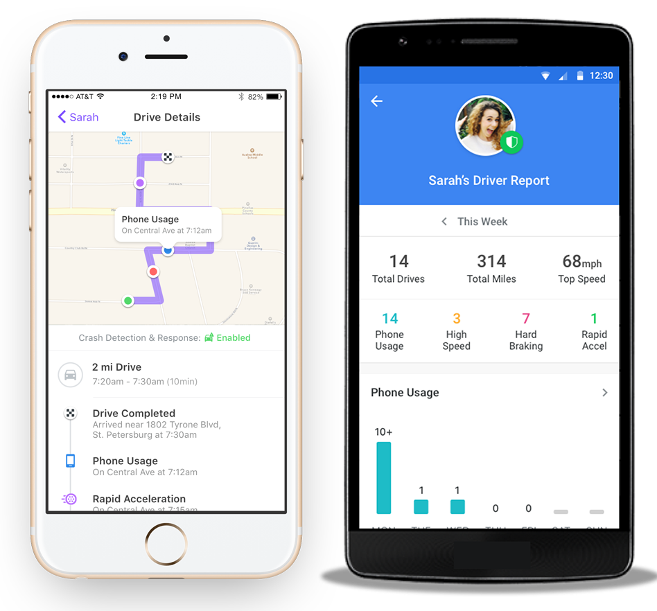 The ADT Go app will tell you your family's driving locations, local crime information and more.