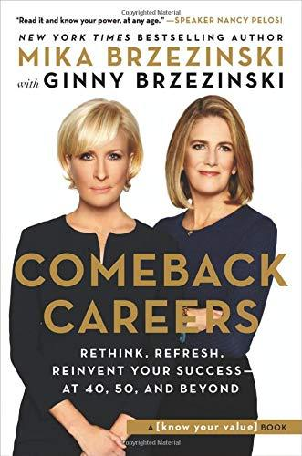 """Comeback Careers,"" by Mika Brzezinski (Amazon / Amazon)"