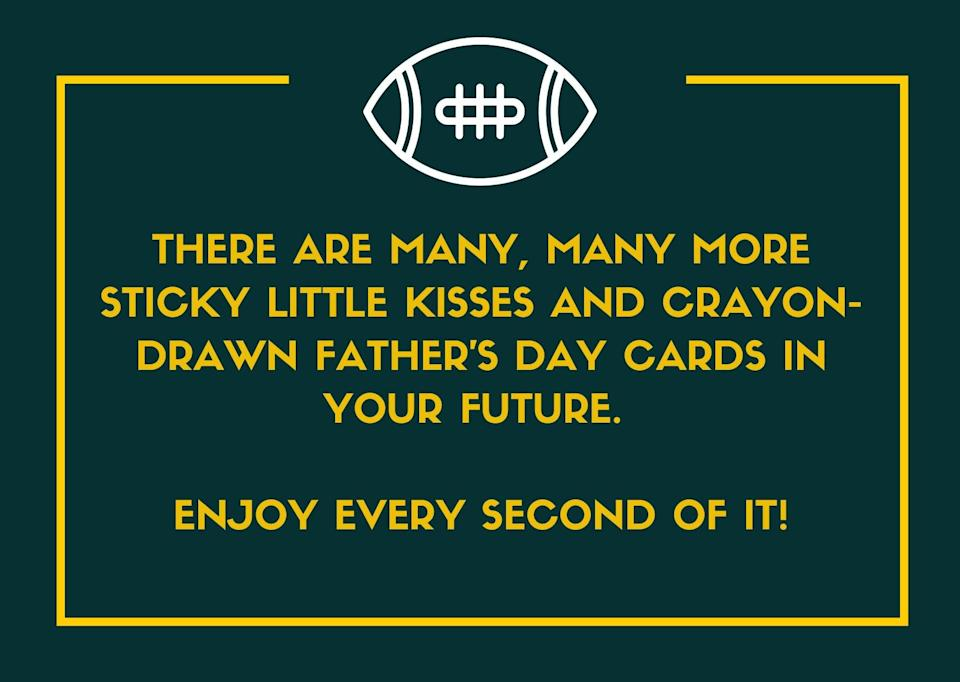Father's Day Message for New Dads