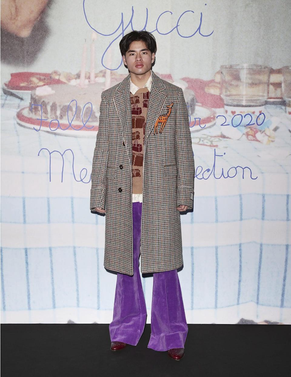 """<p>Chella Man, who is a Deaf trans genderqueer artist, author, and designer, created a <a href=""""https://www.popsugar.com/fashion/chella-man-private-policy-jewelry-collection-48221965"""" class=""""link rapid-noclick-resp"""" rel=""""nofollow noopener"""" target=""""_blank"""" data-ylk=""""slk:beautiful jewelry collection"""">beautiful jewelry collection</a> and accompanying campaign with Asian-led brand Private Policy. Chella also executive produced the docuseries <a href=""""https://www.popsugar.com/love/trans-in-trumpland-director-producer-interview-48127655"""" class=""""link rapid-noclick-resp"""" rel=""""nofollow noopener"""" target=""""_blank"""" data-ylk=""""slk:Trans in Trumpland""""><b>Trans in Trumpland</b></a> and wrote a book called <a href=""""https://chella-man.myshopify.com/"""" class=""""link rapid-noclick-resp"""" rel=""""nofollow noopener"""" target=""""_blank"""" data-ylk=""""slk:Continuum""""><b>Continuum</b></a> that explores his identities. He's been featured in magazines, is friends of many fashion brands, and stars as a model in many of his own projects.</p>"""