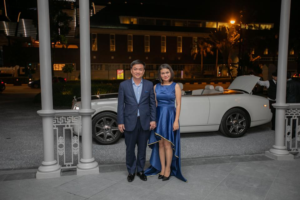 The Hees at Raffles Singapore. (PHOTO: The World's Most Exclusive Dinner)