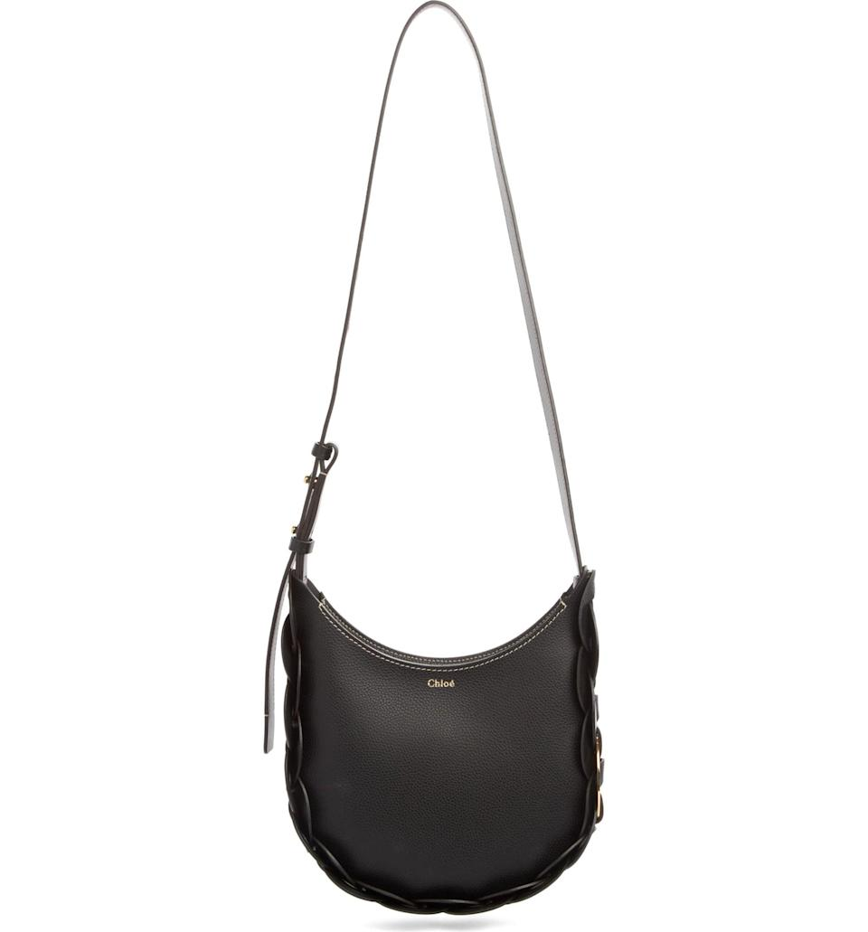 <p>This classic <span>Chloé Small Darryl Leather Hobo</span> ($1,450) has a gorgeous braided detail all along the side.</p>