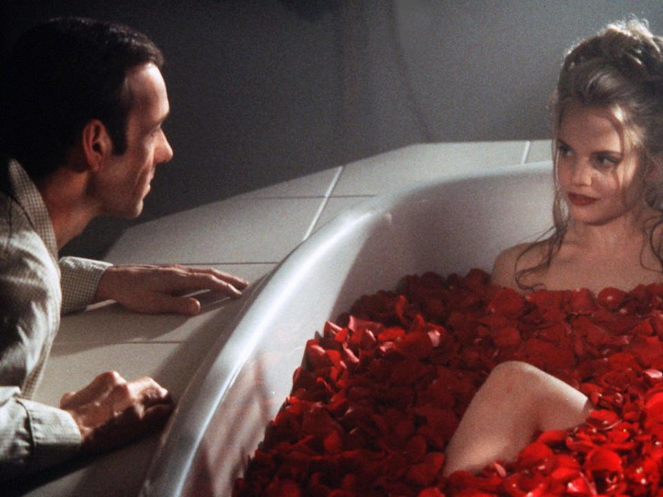 Kevin Spacey and Mena Suvari in 'American Beauty'Lorey Sebastian/Dreamworks/Kobal/Shutterstock