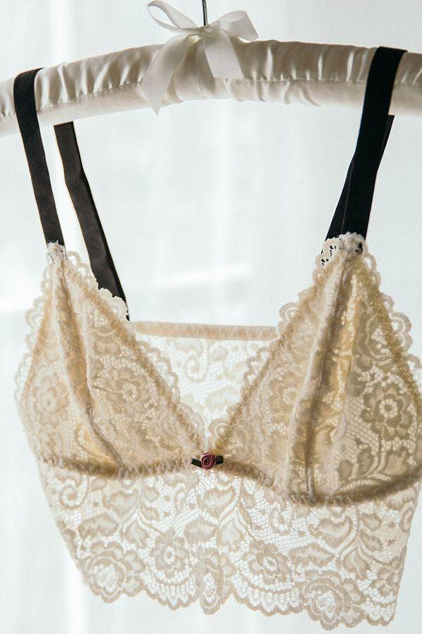 Out From Under Lacey Triangle Bralette