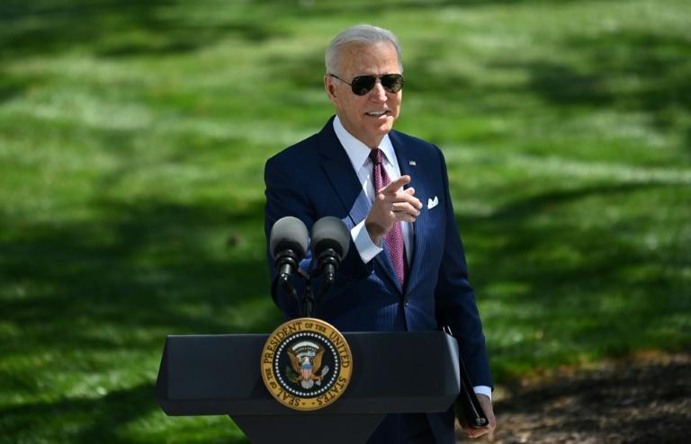 US President Joe Biden says vaccinated Americans won't need to wear masks outside most of the time