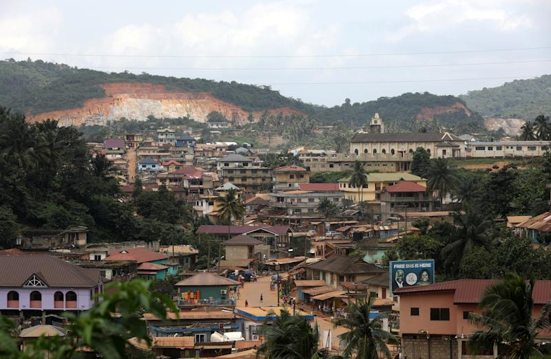 The town of Prestea, a small mining town in the Western Region, in southwest Ghana. (Photo: Siphiwe Sibeko/Reuters)
