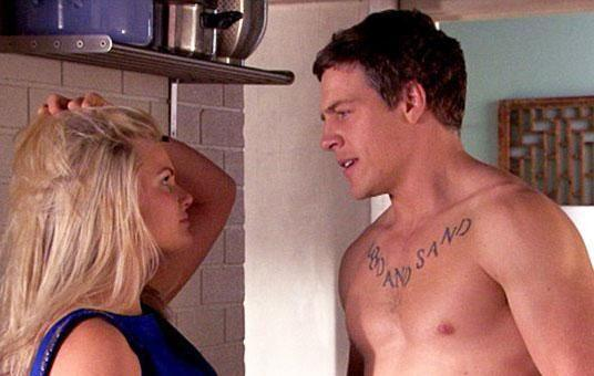 This is the real Brax played by Steve Peacocke, who left the show in 2016. Source: Channel Seven