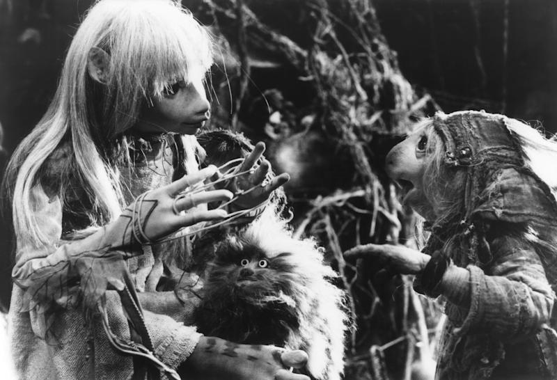 Kira with her Fizzgig friend in 'The Dark Crystal' (Photo: Universal/courtesy Everett Collection)