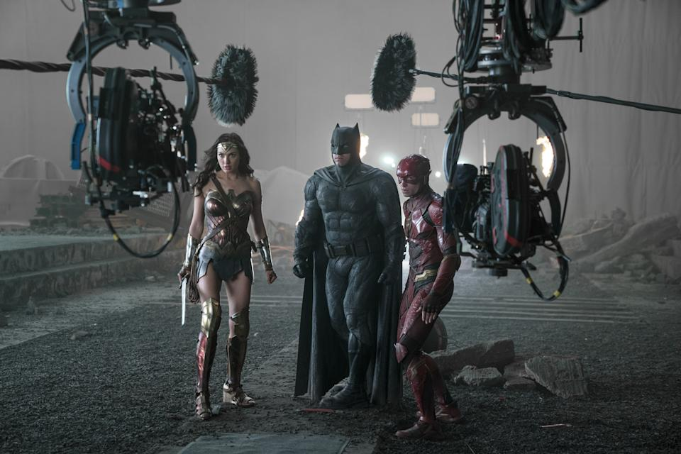 Behind the scenes of Justice League (Warner Bros)
