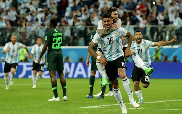 Magical Marcos: Rojo scores the winner to send his country through to face France
