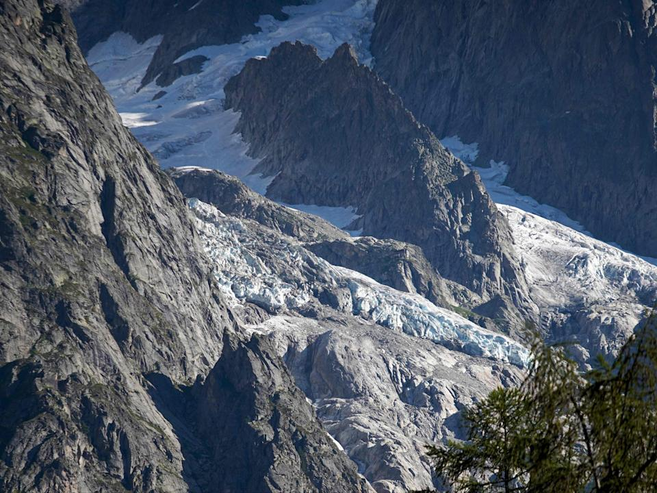 Mont Blanc is the highest mountain in the Alps and Western Europe (AFP via Getty Images)