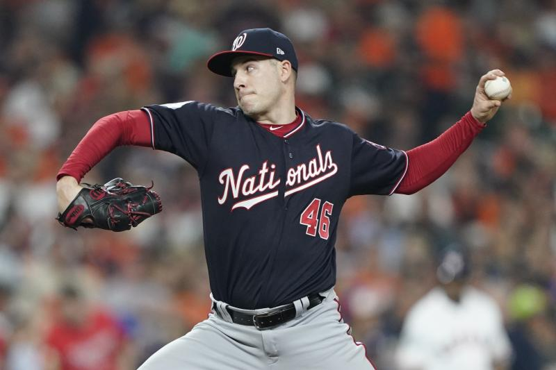 Corbin 1 of many problems for Nats as Series lead vanishes