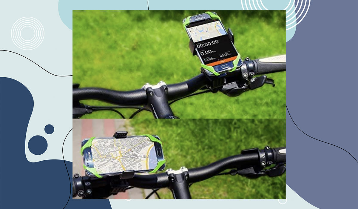 But OF COURSE it works on bicycles too! (Photo: Amazon)
