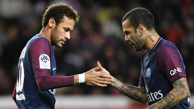 'He's like Messi or Ronaldo' - Alves backs Neymar in wake of criticism surrounding PSG exit talks