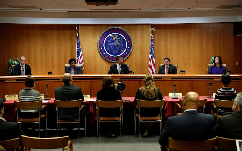 The FCC, led by chairman Ajit Pai,voted 3-to-2 to sweep aside the rules - REUTERS