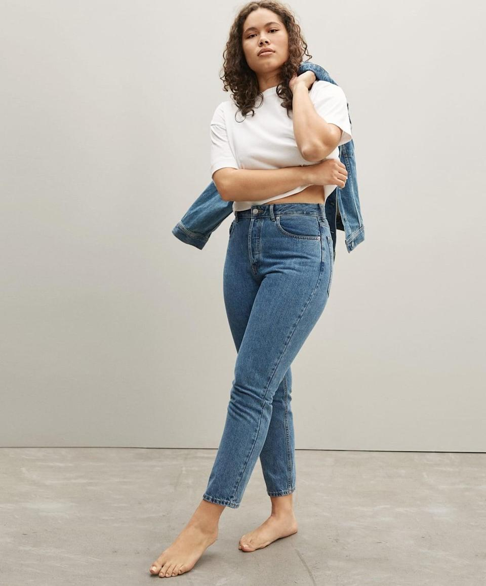 <p>For the uninitiated, the <span>Everlane The Curvy '90s Cheeky Jean</span> ($78) is a classic fit that can be dressed up or down.</p>