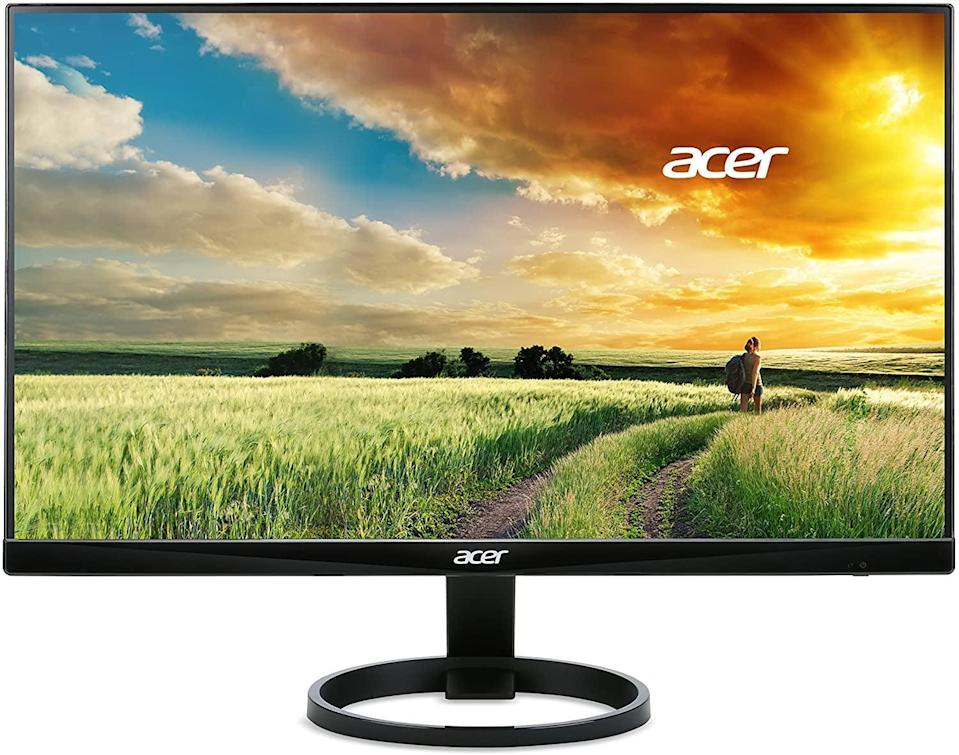 <p>If you're working from home, upgrade your setup with the <span>Acer 24-Inch Widescreen Monitor</span> ($130). No more staring at a small laptop screen, instead make life easier with this bestselling monitor.</p>