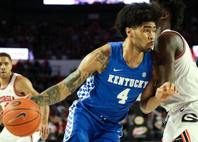 Nick Richards made a massive leap in his junior season. (Photo by Carmen Mandato/Getty Images)