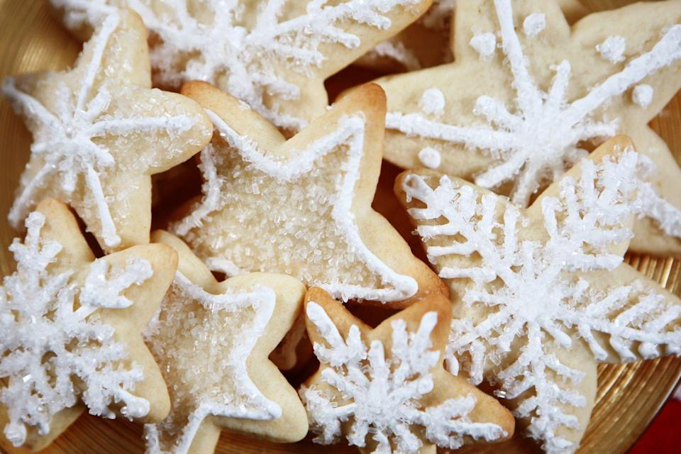 "<p>One could argue there's nothing more iconic than a sugar cookie laid out for Santa, let alone an entire batch. Michiganders have always known what's up. </p><p>Get the <a href=""https://www.delish.com/cooking/recipe-ideas/recipes/a50502/basic-sugar-cookies-recipe/"" rel=""nofollow noopener"" target=""_blank"" data-ylk=""slk:recipe"" class=""link rapid-noclick-resp"">recipe</a>.</p>"