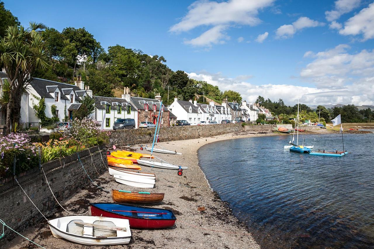 <p>Coming in at the top of the list is Plockton — a tranquil coastal village in Scotland. Known as the 'The Jewel of the Highlands', it's a breathtaking place to come and unwind. <br></p>