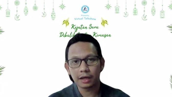 "Marketing Manager Tetra Pak Indonesia, Panji Cakrasantana dalam virtual gathering Ramadhan bertema ""Kejutan Seru Dibalik Santan Kemasan"