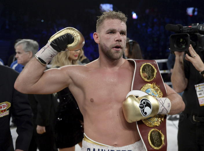 Billy Joe Saunders is allowed to box again. (Ryan Remiorz/The Canadian Press via AP)