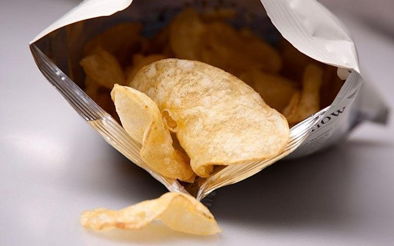 Nearly one in five potato crisp varieties sampled from major retail food outlets in the UK contained high levels of acrylamide, it said. - © Rob Wilkinson / Alamy