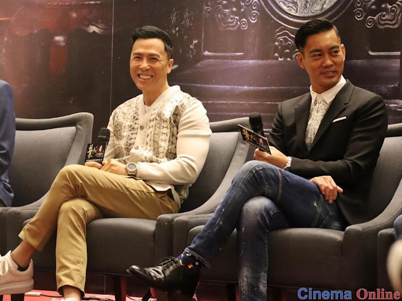 "Donnie Yen said that he had wanted his titular character to have a fight scene with Danny Chan's Bruce Lee in ""Ip Man 4: The Finale""."