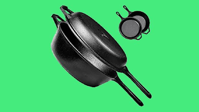 Pre-Seasoned Cast Iron Dutch Oven. (Photo: Amazon)