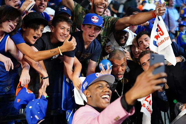 The New York Knicks have the best fans in the world