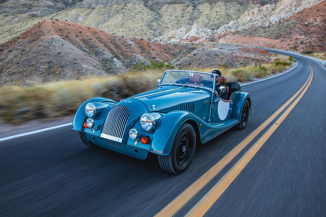 <p>Familiar? Yup. The Plus 4's styling and basic engineering hasn't fundamentally changed in 84 years.</p>