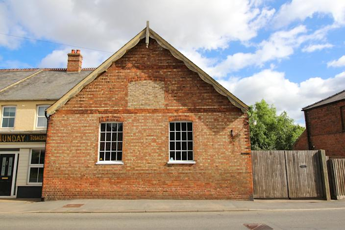 The house looks pretty standard from the outside but is hiding the best secret. (Rightmove/Attik)