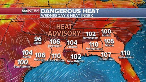 PHOTO: A heat advisory is in store over much of the U.S. (ABC News)