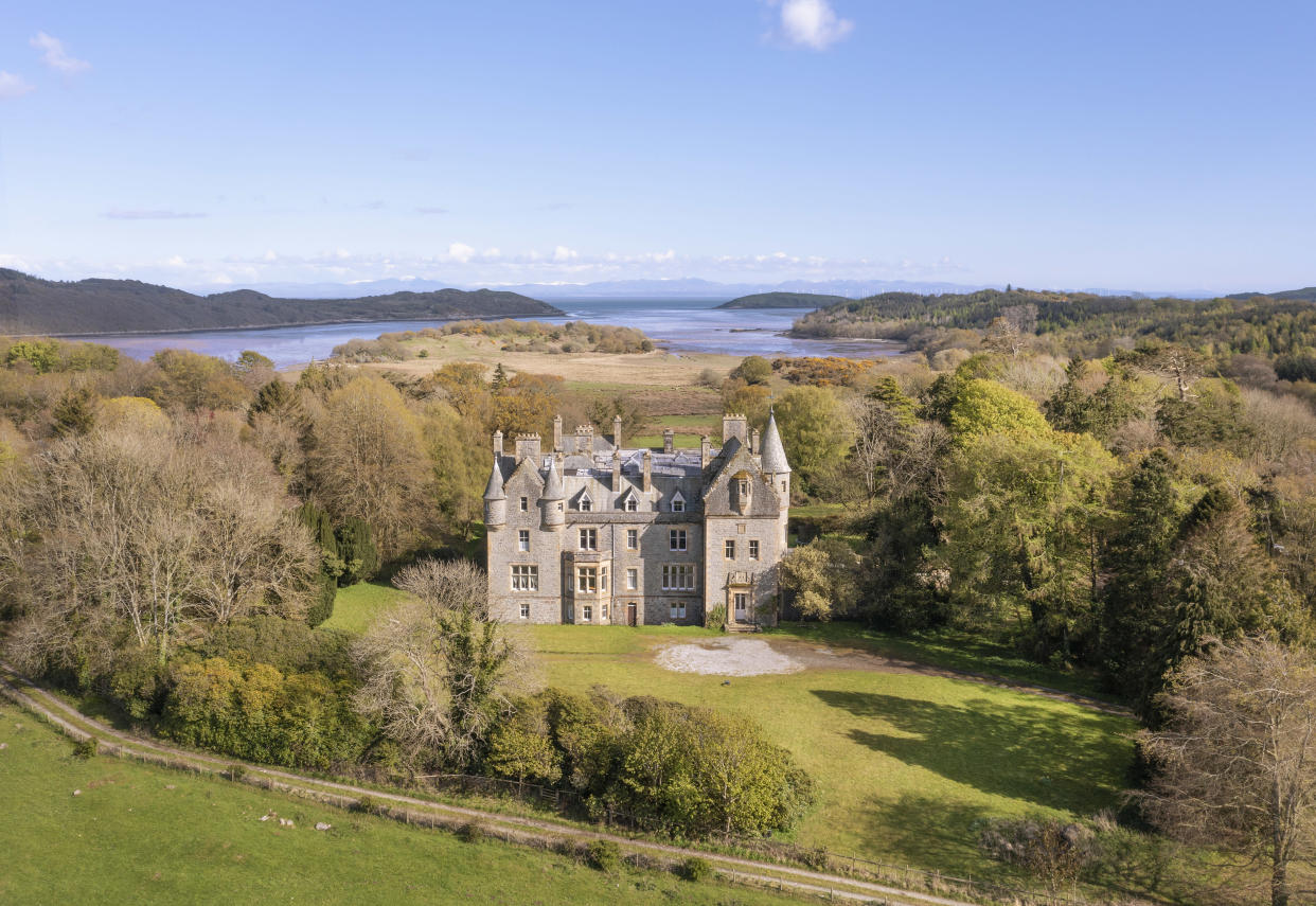 Orchaton Castle is fit for a King or Queen (Fine & Country)