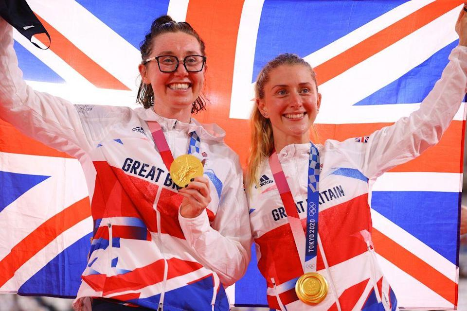 <p>Laura Kenny became the first British woman to win gold at three Olympic Games as she and Katie Archibald were crowned madison cycling champions for finishing first place in 10 out of 12 sprints. This made Kenny GB's most successful female athlete, as her fifth gold and sixth Olympic medal in total.</p>